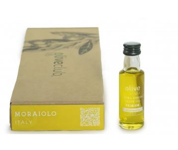 olio extra vergine di oliva Moraiolo- Italia