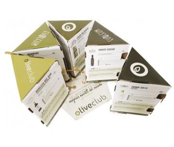 Aceite de Oliva Virgen Extra Oliveclub Pack Selección Evooleum