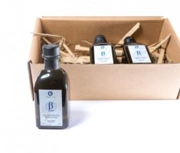CHRISTMAS GIFT - BOX OF THREE BOTTLES OF OLIVE CLUB BETA PREMIUM 250 ML
