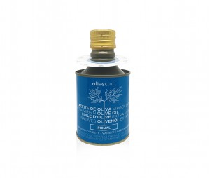 Extra virgin olive oil Oliveclub Picual Tin 250 ml.