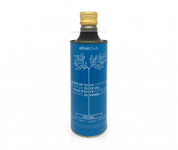 Huile d'olive Oliveclub Picual bidon 500 ml.