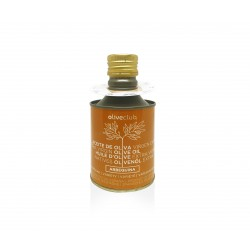 Extra virgin olive oil Oliveclub Arbequina Tin 250 ml.