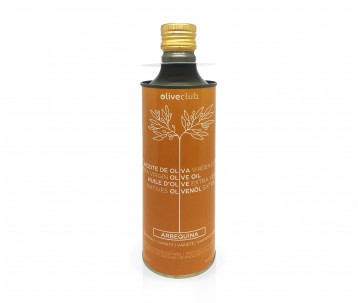Huile d'olive Oliveclub Arbequina bidon 500 ml.