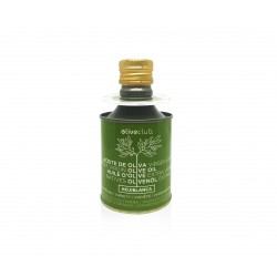 Extra virgin olive oil Oliveclub Hojiblanca Tin 250 ml.