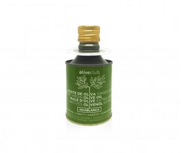Extra virgin olive oil Oliveclub Hojiblanca Tin 250 ml.