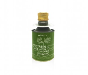 Olivenöl extra Oliveclub Hojiblanca dose 250 ml.