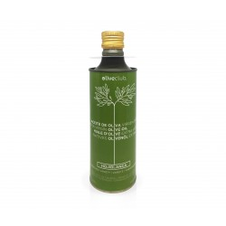 Extra virgin olive oil Oliveclub Hojiblanca Tin 500 ml.