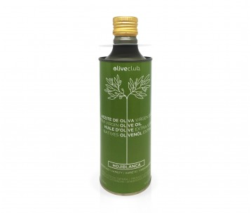 Extra virgin olive oil Oliveclub Hojiblanca Tin 500 ml.
