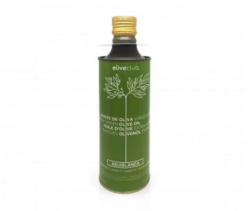 Natives Olivenöl extra Oliveclub Hojiblanca Dose 500 ml.