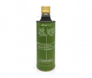 Huile d'olive Oliveclub Hojiblanca bidon 500 ml.