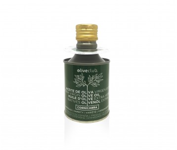 Olivenöl extra Oliveclub Cornicabra dose 250 ml.