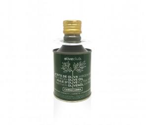 Olio extra vergine di oliva Oliveclub Cornicabra lattina 250 ml.