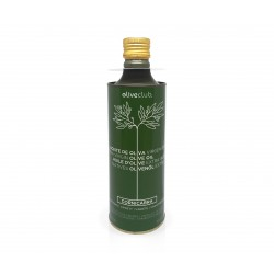 Extra virgin olive oil Oliveclub Cornicabra Tin 500 ml.