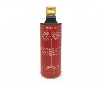 Olio extra vergine di oliva Oliveclub Frantoio lattina 500 ml
