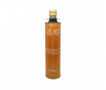 Olio extra vergine di oliva Oliveclub Arbequina lattina 750 ml.