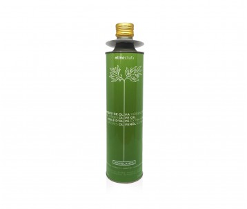 Azeite virgem extra Oliveclub Hojiblanca lata 750 ml.