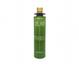 Extra virgin olive oil Oliveclub Hojiblanca Tin 750 ml.
