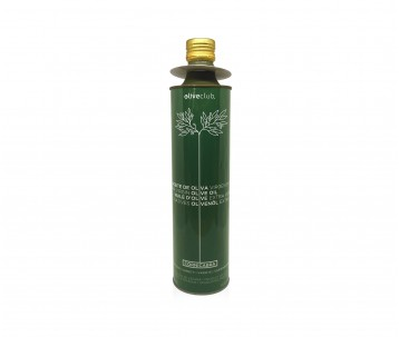 Extra virgin olive oil Oliveclub Cornicabra Tin 750 ml.