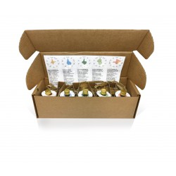 Huile d'olive Oliveclub pack 5 bouteilles 50 ml