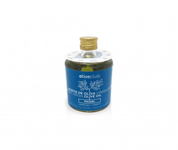 Olio extra vergine di oliva Oliveclub Picual bottiglia 50 ml.