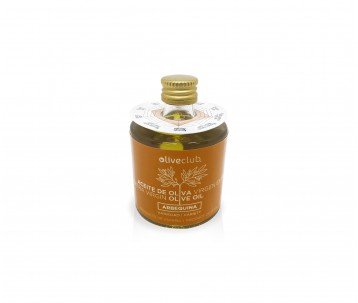 Aceite de oliva virgen extra Oliveclub Arbequina botella 50 ml.