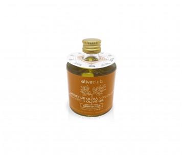 Olio extra vergine di oliva Oliveclub Arbequina bottiglia 50 ml.