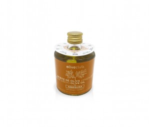 Aceite de oliva virgen extra Oliveclub Arbequina botella 50 ml.