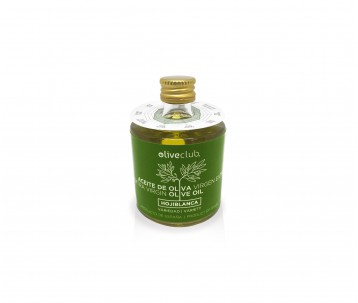 Olivenöl extra Oliveclub Hojiblanca Flasche 50 ml.