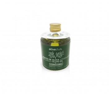 Olio extra vergine di oliva Oliveclub Cornicabra bottiglia 50 ml.