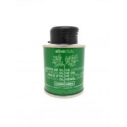 Olio extra vergine di oliva Oliveclub Cornicabra lattina 100 ml.