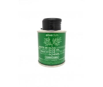Olivenöl extra Oliveclub Cornicabra dose 100 ml.