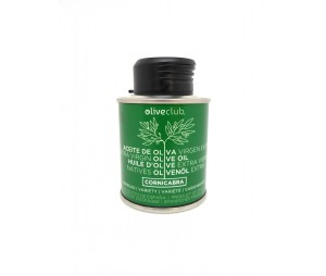Aceite de oliva virgen extra Oliveclub Cornicabra lata 100 ml.