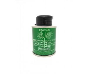 Azeite virgem extra Oliveclub Cornicabra lata 100 ml.