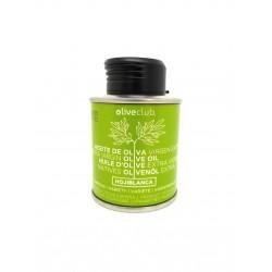 Olio extra vergine di oliva Oliveclub Hojiblanca lattina 100 ml.
