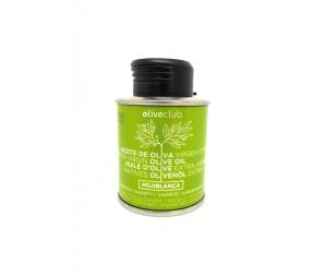 Olivenöl extra Oliveclub Hojiblanca dose 100 ml.