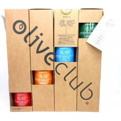Huile d'olive Oliveclub pack 4 bouteilles 50 ml