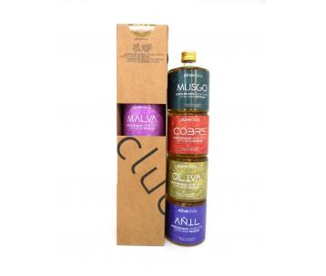 Azeite virgem extra Oliveclub Pack 4 garrafa 50 ml