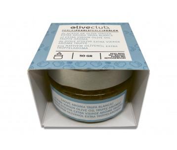 Perlas de AOVE aroma trufa blanca 50 grs.