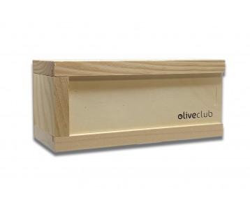 EVOO pearls wooden case