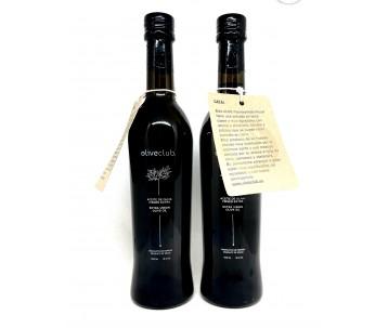Aceite de oliva virgen extra Picual fresco 2 botellas vidrio 500 ml