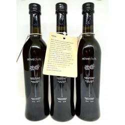 Huile d'olive extra vierge Picual 3 bouteille en verre frais 500 ml