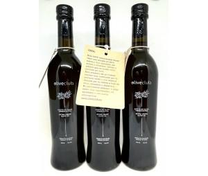 Olio extravergine di oliva Picual fresco 3 bottiglia di vetro 500 ml