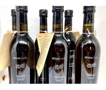 Aceite de oliva virgen extra Picual fresco 6 botellas vidrio 500 ml